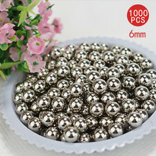 1000pcs Bicycle 6mm Bike Bicycle Steel Ball Bearing Bicycle Steel Replacement AU