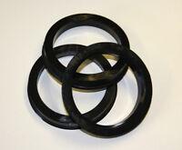 Bagues de centrage anneaux pour aluminium chromé JANTES 78,1 auf 58,1 plastique