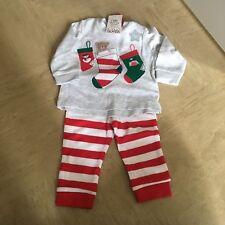 Bebé Navidad Pijamas 3-6 #free Post