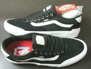 Vans Men's Chima Ferguson Pro 2 Canvas Suede Skate shoes Black White Size 9.5