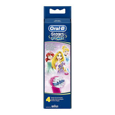 Oral-B Stages Power Kids Replacement Brush Heads Disney Princess Pack of 4