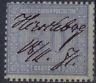Altdeutschland > Norddeutscher Postbezirk 1869, Mi. # 26 e mit  Federzugentwert.