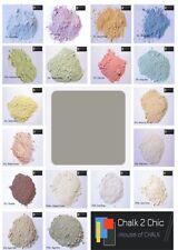 #CP14 SOLWAY GREY shabby craft FURNITURE 11oz chalk powder PAINT makes 2 L