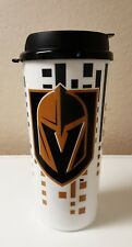 LOT OF TWO (2) VEGAS GOLDEN KNIGHTS TRAVEL TUMBLER MUG NHL 32OZ CUP WITH LID0