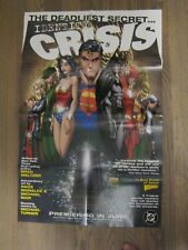 Promo Poster - Identity Crisis - DC Comics Batman Superman - Michael Turner   ZZ