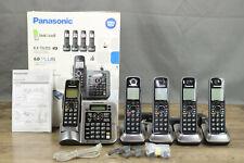 Panasonic KX-TG155SK 6.0 Dect PLUS Bluetooth Cordless Phone w/ 4 Handsets