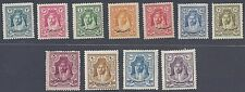 JORDAN 1928 CONSTITUTION SET OF 11 COMPLETE SG 172 182 NEVER HINGED & HINGED