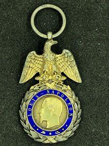 Médaille Militaire Variante B18 - Second EMPIRE -  Napoléon III (5)
