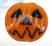 10pcs exquisite handmade Lampwork glass round beads Pumpkin Halloween 20mm