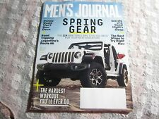 Mar 2018 Men's Journal Magazine, Jeep Wrangler Rubicon Cover, Dennis Quaid March
