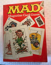 1979 Vintage Parker Brothers Mad Magazine Card Game ~ Complete