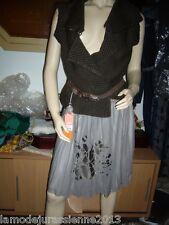 LES PETITS PRIX COP COPINE : jupe modèle FLEUR neuve et étiquetée valeur 95€
