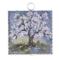 Round Top Collection NWT - Mini Spring Season Tree - Metal & Wood