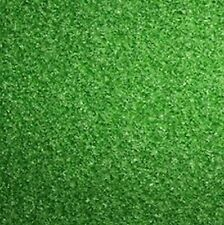 DOLLS HOUSE TEXTURED GREEN LAWN GARDEN GRASS, MINIATURE CARPET, 12 TH SCALE NEW,
