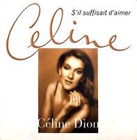 Céline Dion CD Single S'Il Suffisait D'Aimer - France (EX/VG+)