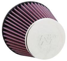 """RC-8300 K&N Universeller Chrom Filter 2-3/8 """" Flg, 5-3 16 B, 3-1/2 T, 4-5 16 H"""