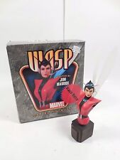 BOWEN DESIGNS MARVEL COMICS RETRO VERSION WASP MINI-BUST STATUE #818/2000 ANTMAN