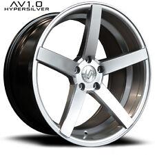 Advance AV1.0 8,5x19 et40 5x112 silber mit TÜV CV3 Design Audi VW