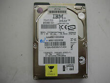 """OK! IBM Travelstar 20gb IC25N020ATDA04-0 320 35H9655 01 2,5"""" IDE"""