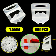 600x Tile Leveling System Clips Kit Levelling Spacer Tiling Tool Wall Floor AU