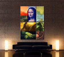 mona lisa 4 Lienzo Imágenes Moderno Arte Impresión Artística Abstracto POP ART