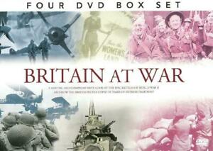 BRITAIN AT WAR WORLD 4 DVD SET WAR ll THE BLITZ VICTORY YEARS NEW & SEALED