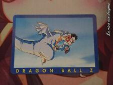 Carte Dragon Ball Z Serie Part 1 n° 62 card DBZ Bleu Panini Blue Gohan Dinosaur