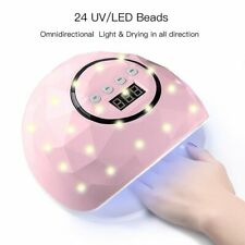 24Leds Uv Nail Lamp Smart Sensing Gel Nails Polisher Dryer Manicure Machine