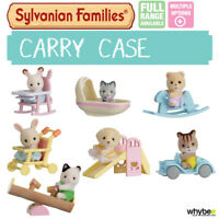 SYLVANIAN FAMILIES CARRY CASE FULL RANGE CHOOSE YOUR SET BRAND NEW IN BOX