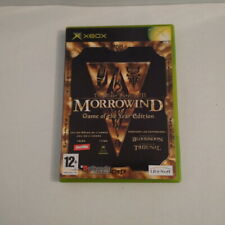 The Elder Scrolls III Morrowind Game of the year VF PAL [Complet] XBOX