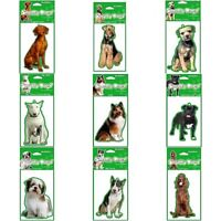 Smelly Dogs Car Pets Hanging Air Freshener Little Gift for Dog Lovers Pick Breed