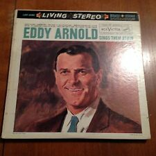 Eddy Arnold-sings Them Again-lp-rca Victor-2185