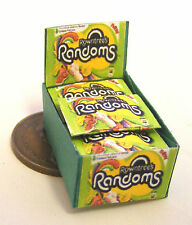 1:12 Scale Display Box Of Randoms Packets Tumdee Dolls House Accessory Sweets