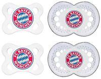 MAM Schnuller Original Silikon FC Bayern München 0-6 o. 6-16 o. 16+ Doppelpack