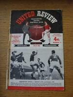17/02/1962 Manchester United v Sheffield Wednesday [FA Cup] (Split Spine, Sellot