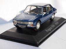 Peugeot 504 saloon 1969 in Blue 1/43rd Scale