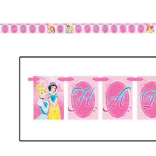 DISNEY PRINCESS Sparkle and Shine BANNER ~ Birthday Party Supplies Decorations
