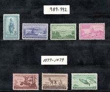Mint Lot Of 2 Sets Both Over 60 Years Old Very Low Price & Free Shipping (Y1)