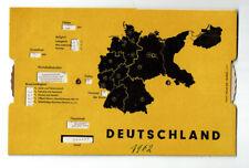 Deutschland: Aufbau der Bundesrepublik Deutschland, Dreh-Schautafel ca. 1962 BRD