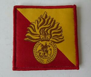 British Army Royal Regiment of Fusiliers Morale ID Patch/Badge - New