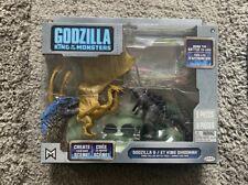 "Jakks Godzilla & Ghidorah King Of The Monsters Action Figures Toy 3.5"" 9cm NEW"