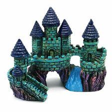 Retro European Style Castle Aquarium Decoration Resin Crafts & Fish Tank Display