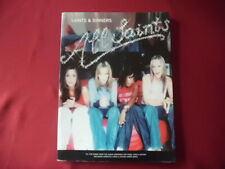 All Saints - Saints & Sinners . Songbook Notenbuch Piano Vocal Guitar PVG