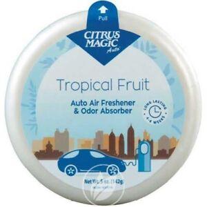 Citrus Magic Auto Air Freshener & Odor Absorber Tropical Fruit