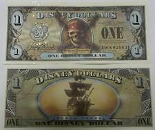 Disneyland 2007 Pirates of the Caribbean Black Pearl $1 Disney Dollar E00007819B