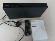 SONY CMT-X3CD BLUETOOTH CD PLAYER HI-FI MICRO SYSTEM manual and remote Excellent