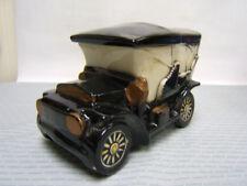 """McCoy Original Ceramic Antique Car Cookie Jar 6-3/4"""" tall AUC"""