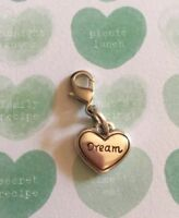 Brighton Dream HEART Charm Silver Excellent Condition Very Pretty Love
