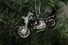 Harley Davidson 2001 FXSTS Springer Softail Christmas Ornament
