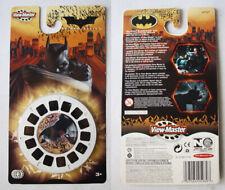 RARE 2005 VIEW MASTER BATMAN BEGINS DARK KNIGHT NEW SEALED !